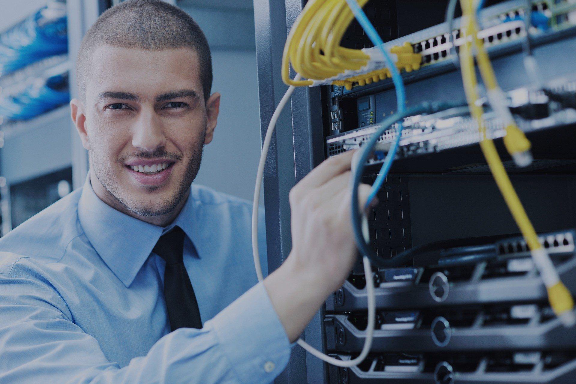 nätverksinstallation
