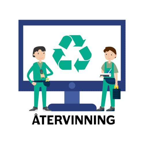 förlänga nätverk - återvinning